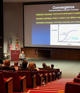 "The 655th Intelligence, Surveillance and Reconnaissance Group's 512 Intelligence Squadron hosted their 4th annual ""Convergence 2018"" seminar at John Hopkins University Applied Physics Laboratory (APL), Laurel, Maryland, June 8, 2018."