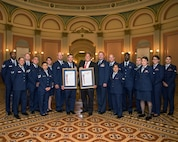 Resolution honoring the 75th anniversary of Travis Air Force