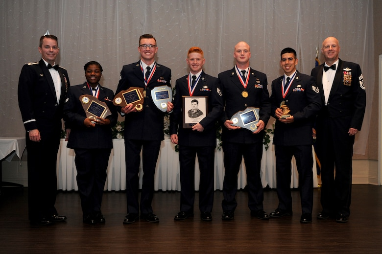 Five Airmen received awards during an Airman Leadership School Graduation Ceremony June 28, 2018 at Joint Base Charleston, S.C.