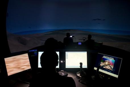 RIMPAC participants go virtual for artillery training