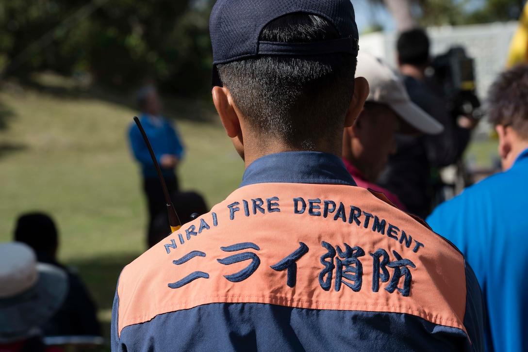 Always Prepare: Kadena opens gates to Chatan town during tsunami exercise
