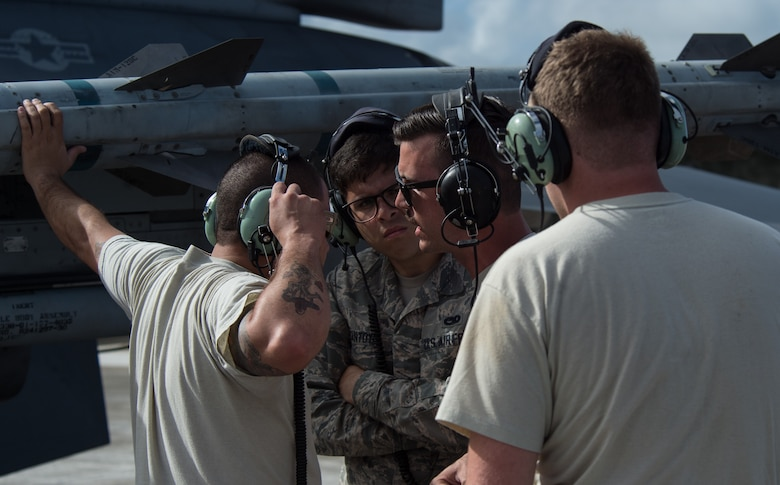 The 14th FS and AMU work out of Guam during exercise COPE NORTH.