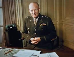 Photo of Lt. Gen. Dwight D. Eisenhower