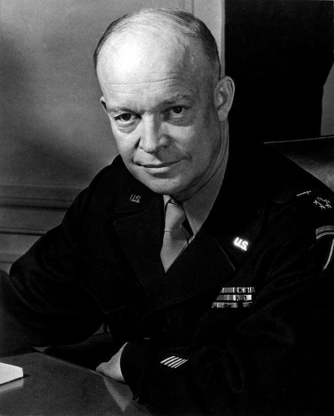 Photo of Gen. of the Army Dwight D. Eisenhower