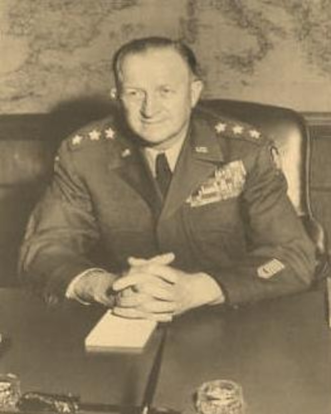 Photo of Lt. Gen. Manton S. Eddy