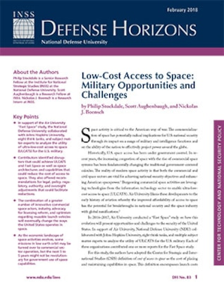 Low-Cost Access to Space: Military Opportunities and Challenges