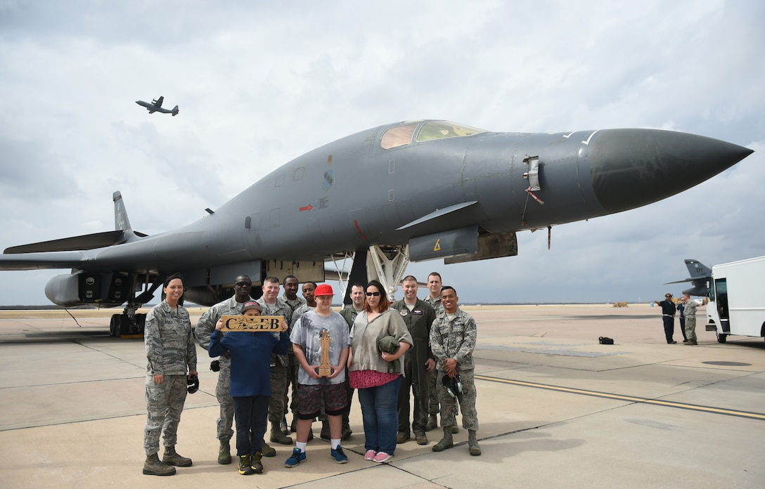 Abilene boy becomes Airman for a day