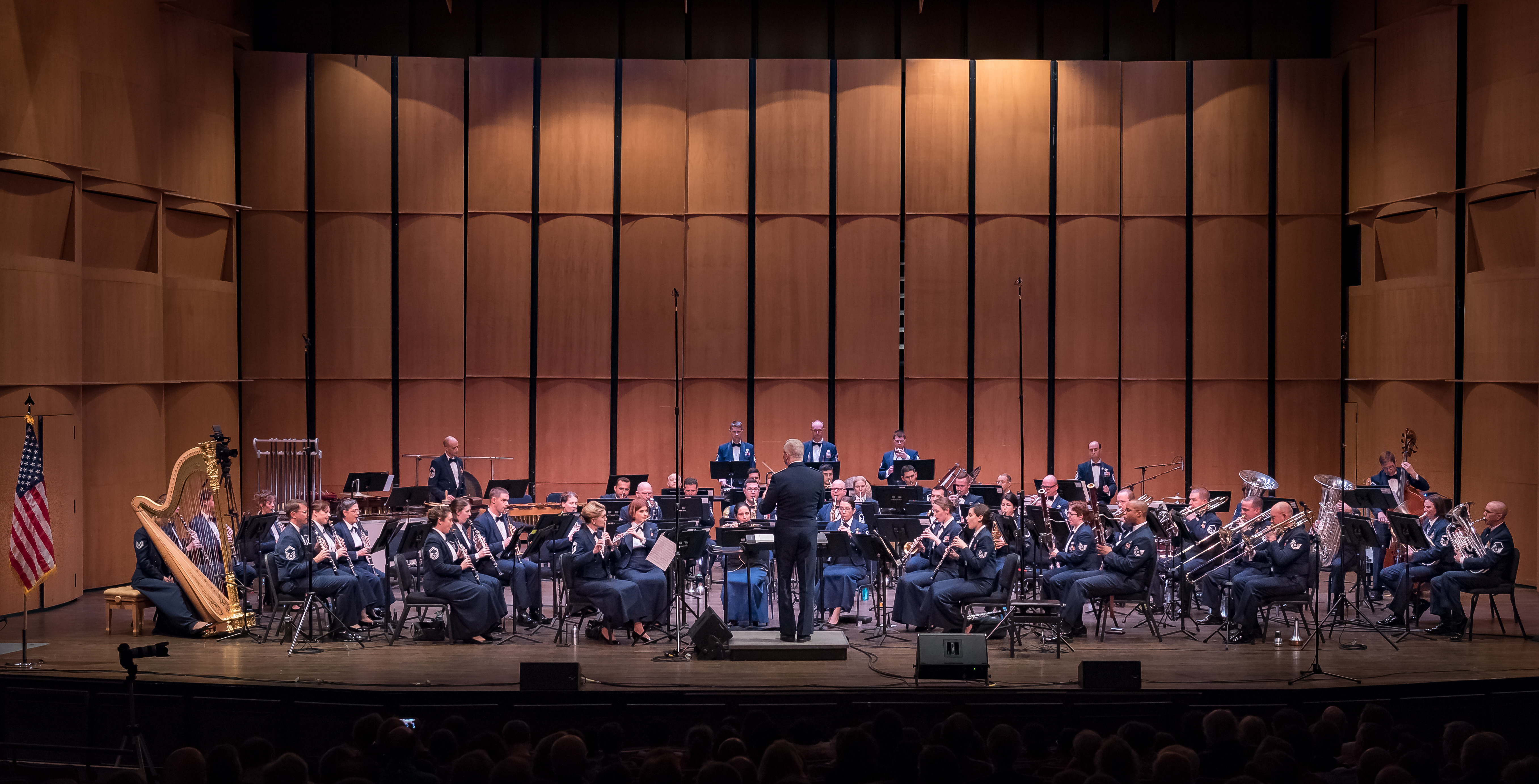 Concert Band and Singing Sergeants on Tour, Spring 2018 > Air Force