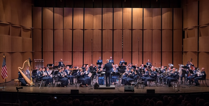 The Concert Band and Singing Sergeants will be touring New England from April 2nd-April 12th. Photo by Chief Master Sgt. Bob Kamholz/released