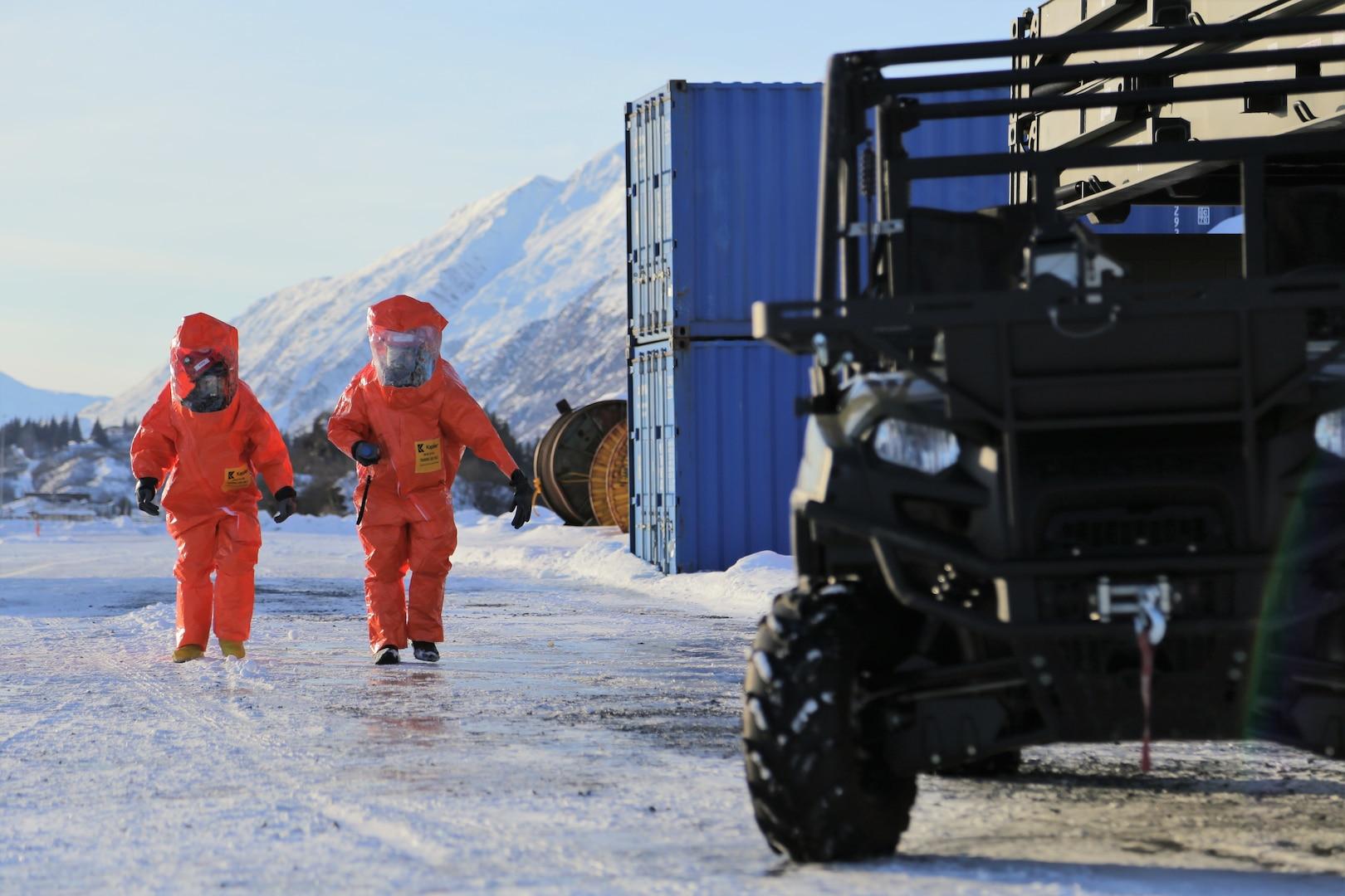Alaska National Guard's exercise Arctic Eagle tests radiological response in Valdez