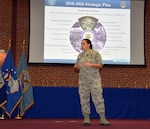 DLA Commander holds Town Hall