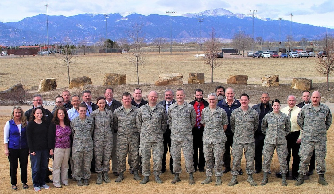 Thirty five members of the COBRA DANE System Sustainment Team at Peterson Air Force Base, Colo., won the 2017 Secretary of Defense Performance Based Logistics Award at the system level. Their efforts to incentivize the prime contractor resulted in operational dependability and availability, and decreased overall maintenance cost. (U.S. Air Force Photo by Lonnylee Barrett)
