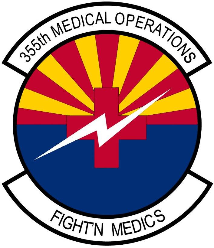 Emblem- 355th Medical Operations Squadron (355 MDOS)