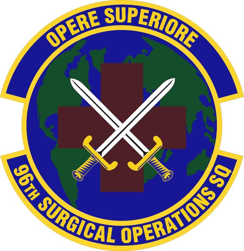 Emblem- 96th Surgical Operations Squadron (96 SGOS)