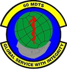 Emblem- 60th Medical Diagnostics & Therapeutic Squadron (60 MDTS)
