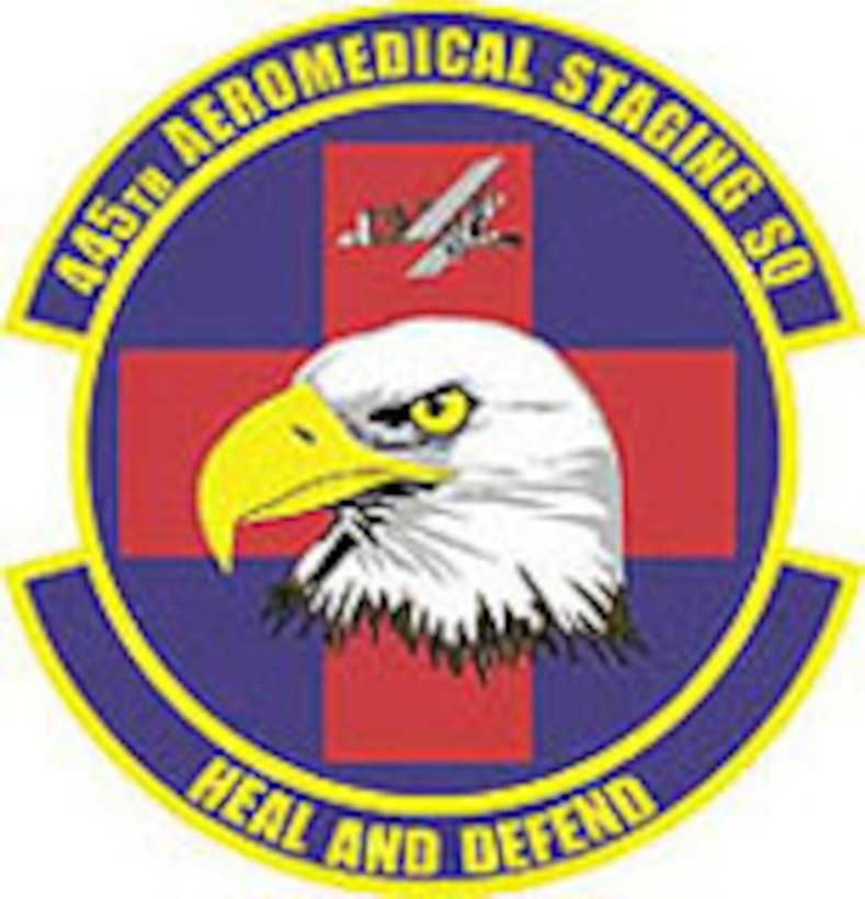 Emblem- 445th Aeromedical Staging Squadron (445 ASTS)