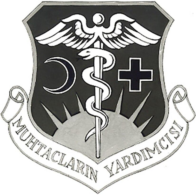 Emblem- TUSLOG Detachment 37; 7250 USAF Hospital Ankara