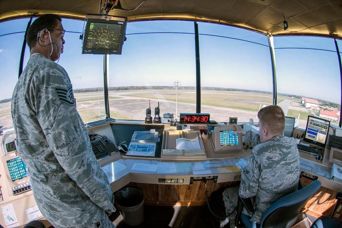Maxwell's Air Traffic Control Tower