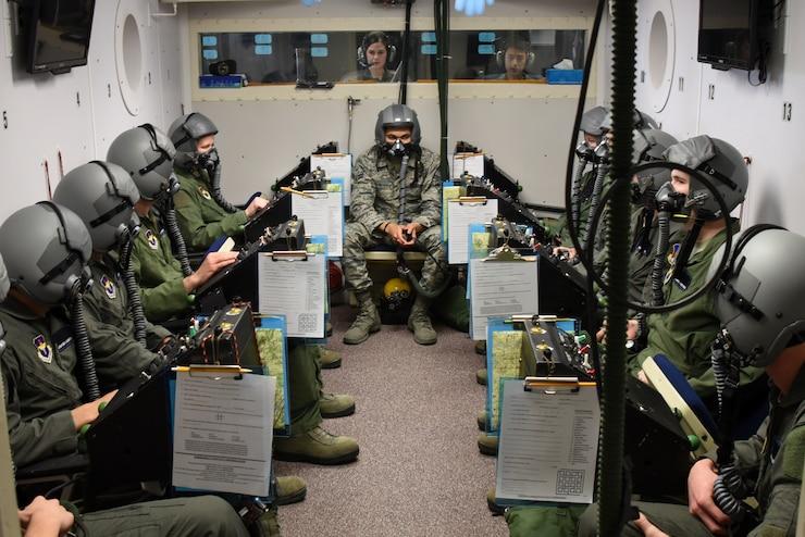 ENJJPT students in altitude chamber