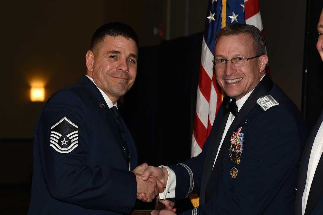Master Sgt. Kurt Lilley, of the 219th Security Forces Squadron, is selected as the North Dakota Air National Guard senior noncommissioned officer of the year