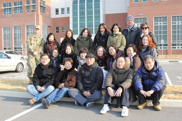 To enhance understanding of the current transformation and relocation, Far East District employees were given a tour of several facilities including the new district's headquarters at U.S. Army Garrison Humphreys, Feb. 8.