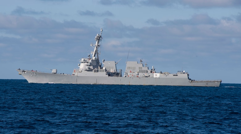 Sterett Crosses into 7th Fleet