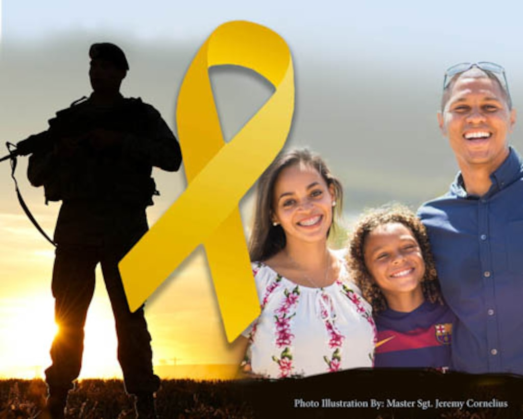 The 10th annual yellow ribbon event was held in Nashville, Tennessee on Feb. 3, 2018. (U.S. Air National Guard photo illustration by Master Sgt. Jeremy Cornelius)