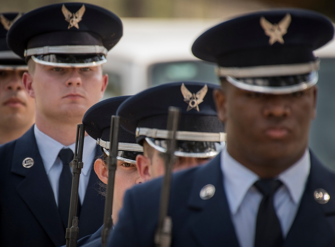 Honor Guard graduation March 2018