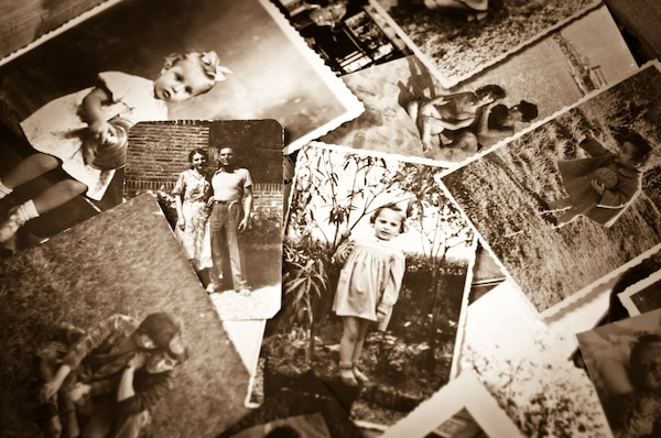 Vintage family photos show a connection to the past through genealogy. (Courtesy Graphic)