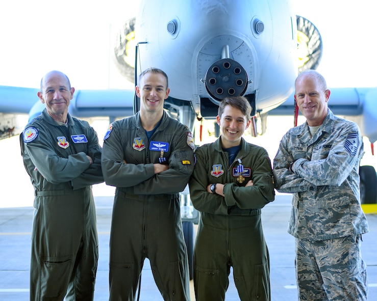 D-M Airmen receive Distinguished Flying Cross