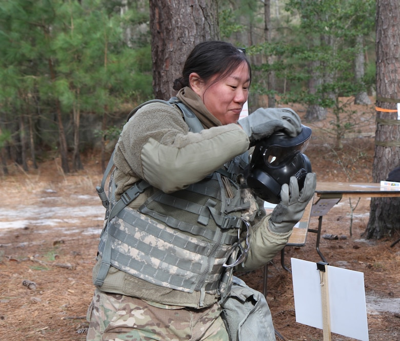 U.S. Army Reserve Soldiers practice critical skills with warrior task training
