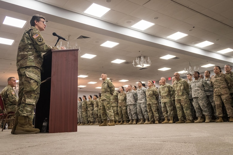 143d ESC Soldiers prepare to deploy