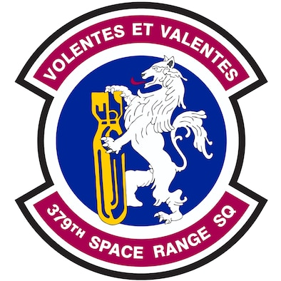 379th Space Range Squadron patch