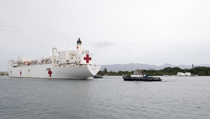 USNS Mercy Arrives in Hawaii, En Route for Pacific Partnership 2018