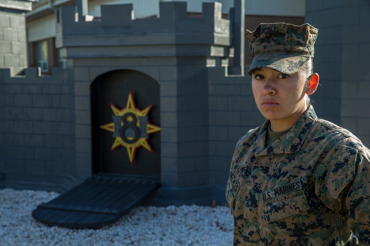 Face of Defense: Marine Credits Personal Accolades to Her