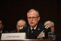 DIA Director Lt. Gen. Robert Ashley testifies before the Senate Armed Services Committee