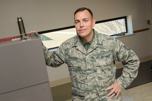 "Tech. Sgt. Robert ""Jim"" Scofield, a budget analyst for the 167th Comptroller Flight, made significant changes to his diet after attending a lunch and learn event hosted by the 167th Medical Group which he credits to improving his overall health and saving his military career."