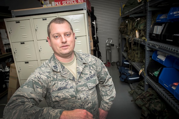 Capt. Keith Michael is the 167th Medical Group logistics officer and the En-Route Patient Staging team Chief. He is the Airman Spotlight for the month of March for the 167th Airlift Wing.