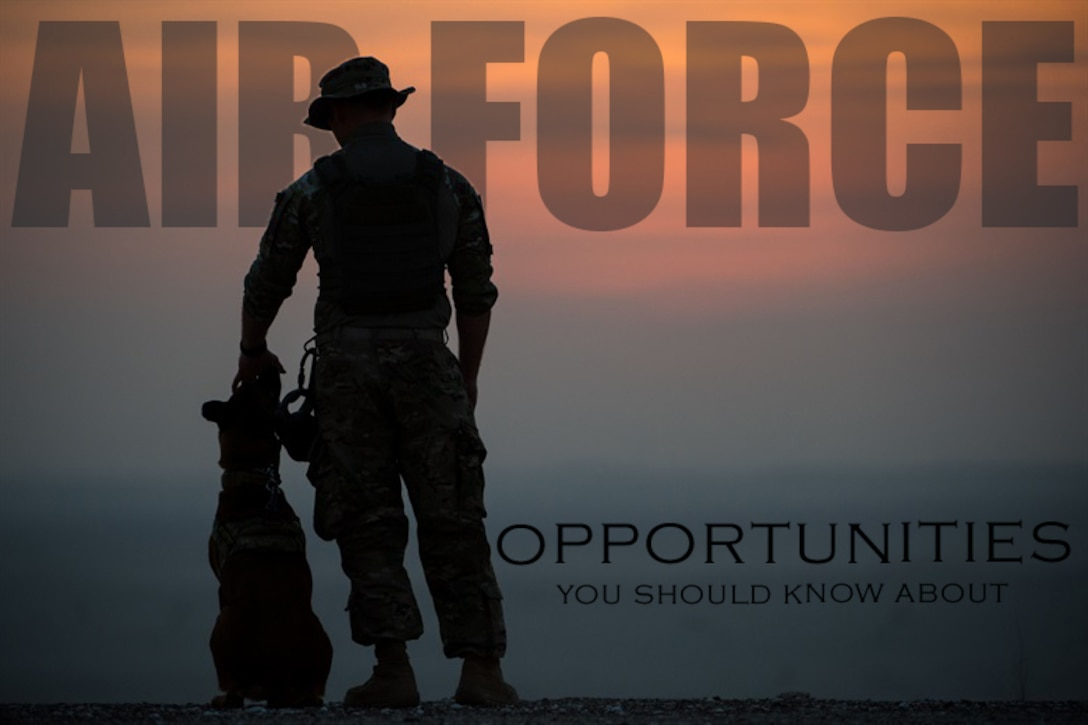 The Air Force offers Airmen many opportunities for career change and development.
