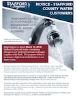 Stafford County Water Customers