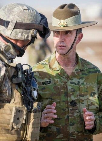 U.S., Australian NCOs Share Leadership Philosophy