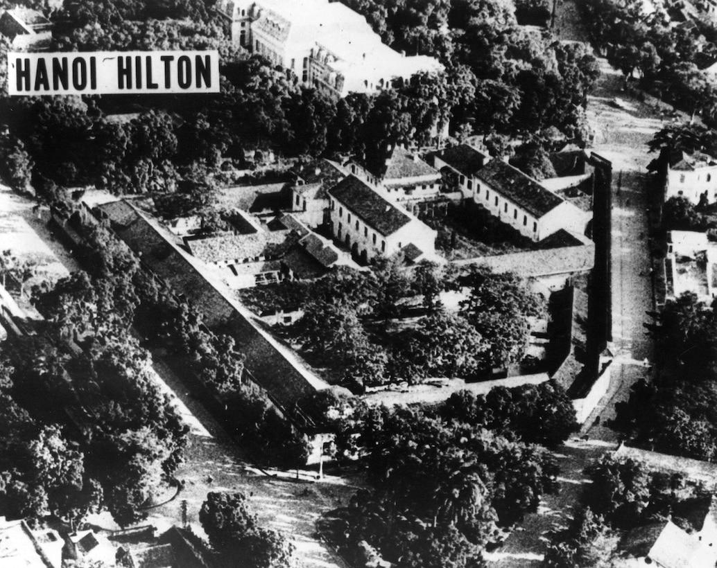 Overview of Hanoi prison camp. (Courtesy photo.)