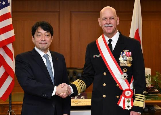 U.S. Pacific Fleet commander concludes visit to Japan