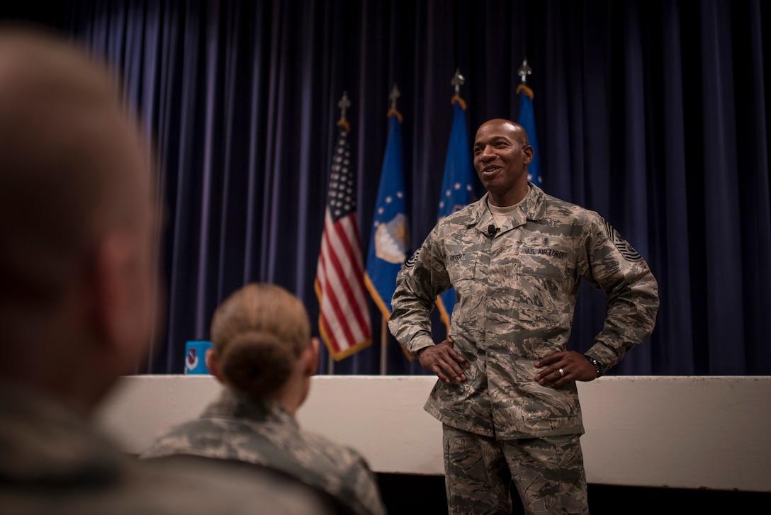 CMSAF, CMSgt Wright, USAF