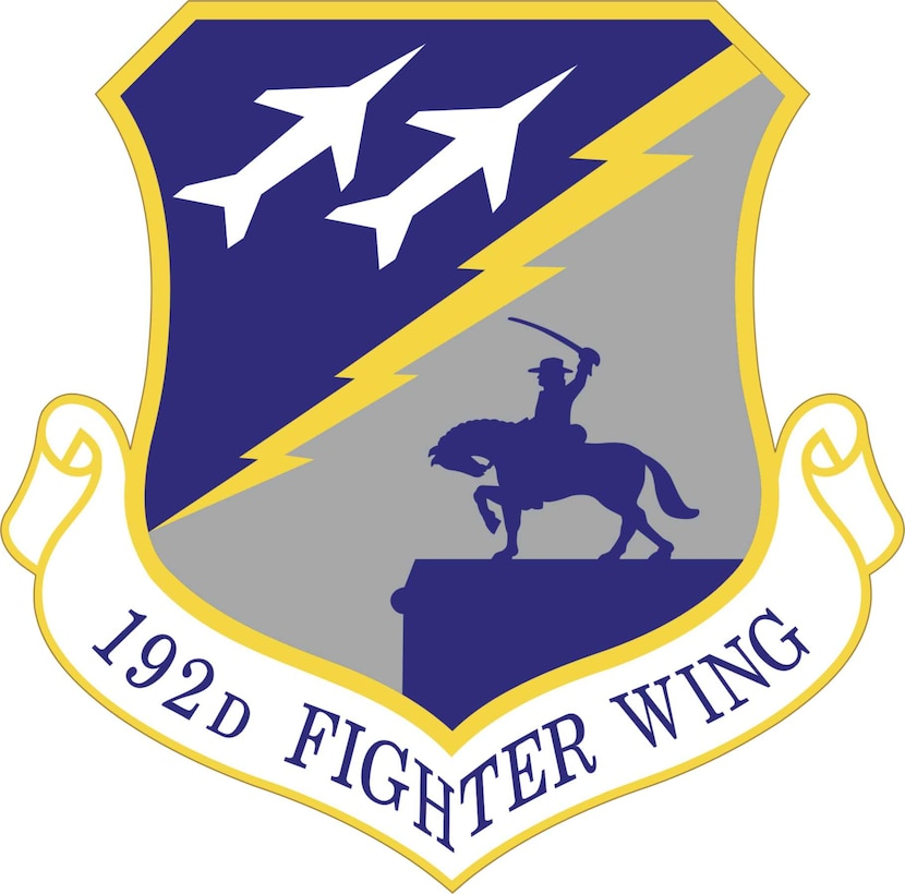 Official Emblem of the 192nd Fighter Wing