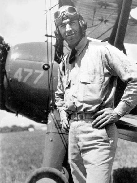 George H. Holmes, the Air Force's last enlisted pilot (Courtesy Photo)