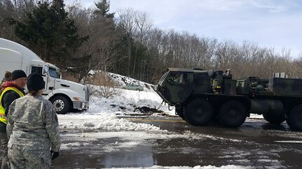 Pa. Soldiers help in latest storm