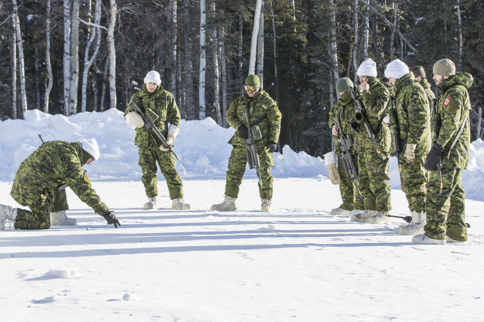 Alaska drill had extreme cold-weather training opportunities