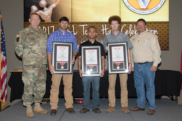 Steel de Fleury Medals awarded at town hall
