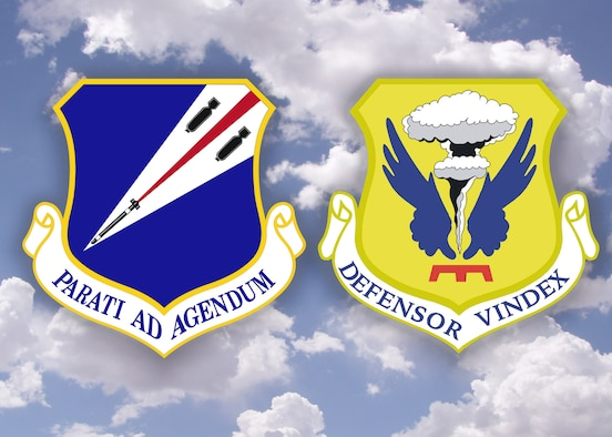 The Missouri Air National Guard's 131st Bomb Wing and U.S. Air Force 509th Bomb Wing at Whiteman Air Force Base were recently announced as co-winners of the 2017 Omaha Trophy in the Strategic Bomber Catagory.  (U.S. Air National Guard graphic by Senior Master Sgt. Mary-Dale Amison)